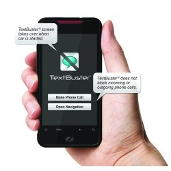TextBuster Text Blocking and Tracking Device for Vehicles (Fedex Refund Policy)