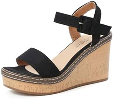 Dames Strappy Sandalen Met Sleehak En Plateauzool