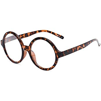 1345d42de7d7 Readers.com Fully Magnified Reading Glasses: The Architect, Trendy Round  Full Frame Reader for Women and Men - Tortoise, 1.75