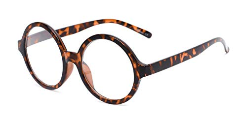 Readers.com Reading Glasses: The Architect Reader, Plastic Round Style for Men and Women - Tortoise, ()