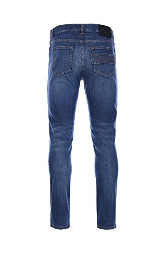Givenchy Homme 17S1005473400 Bleu Coton Jeans