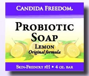 MASSEY MEDICINALS Candida Freedom Probiotic Soap, 4 OZ