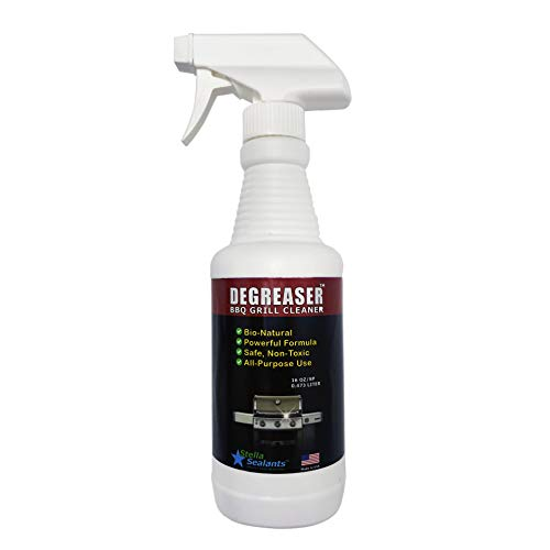 Degreaser All-Purpose Heavy Duty Cleaner for BBQ Kitchen Appliances Countertop and Tile (16oz) Bio-Natural Unscented