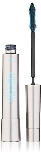 L'Oreal Telescopic Shocking Extensions Waterproof Mascara, Blackest Black, 0.24 Fluid Ounce (2 Pack)