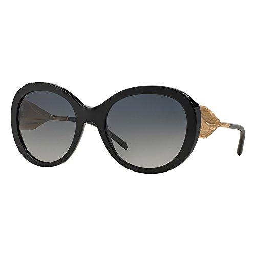 de Gafas Black para Sol Polargreygradient Mujer Burberry Negro wY7Anw