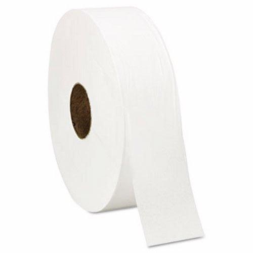 Windsoft 201 Super Jumbo Roll One-Ply Bath Tissue, 12