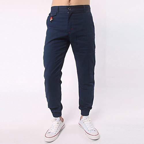 Skang Solid Pantalon Homme Marine Bleu rwrqFA5