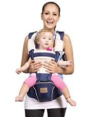 Bebamour Sac à dos porte-bébé Hipseat 5 en 1, élingue de portage