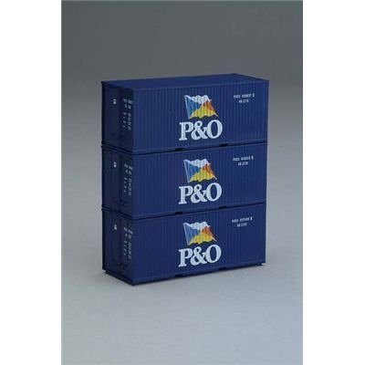 P&O SHIPPING CONTAINER SET (3) - PIKO HO SCALE MODEL for sale  Delivered anywhere in Canada