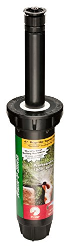 Rain Bird 1804VAN Professional Pop-Up Sprinkler, Adjustable 0° - 360° Pattern, 8' - 15' Spray Distance, 4' Pop-up Height