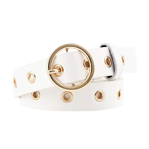 [해외]Fashion Women Classic O Ring Leather Leather Belt for Students Girls / Fashion Women Classic O Ring Leather Leather Belt for Students Girls