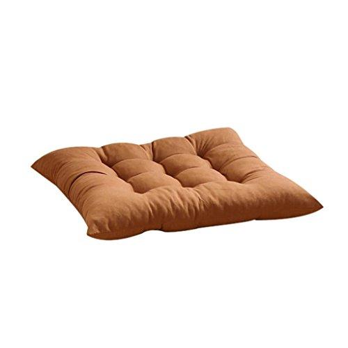 Rumas Indoor Outdoor Garden Patio Home Kitchen Office Chair Seat Cushion Pads (Coffee)