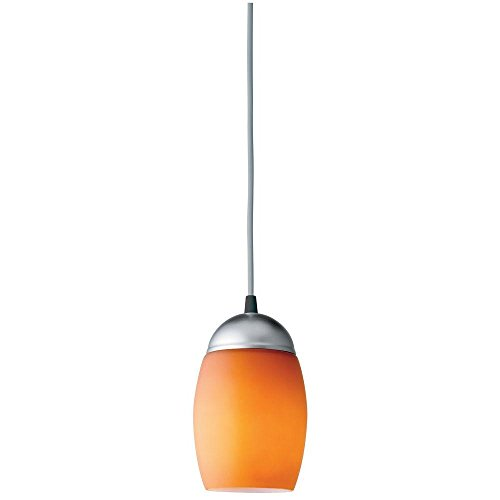 Lithonia Lighting 11994 GA M4 1 Lamp 13W Compact Fluorescent Pendant, Amber