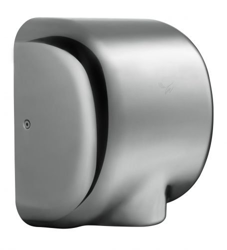 Windsor Hand Dryer - white steel Stream Hygiene