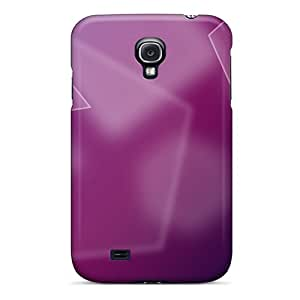 New Shockproof Protection Case Cover For Galaxy S4/ Polygons Abstract Case Cover