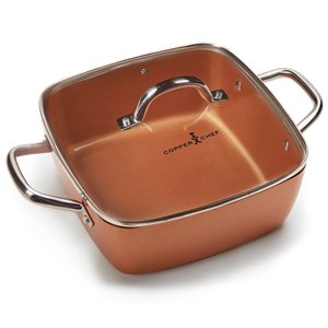 Copper Chef 12 Piece Square Casserole Cookware Set