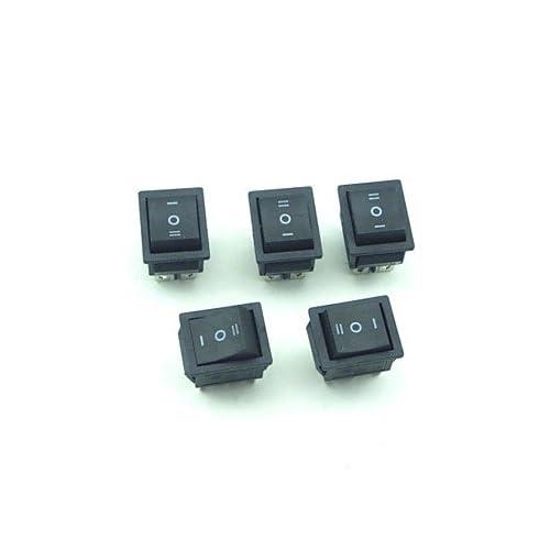 1595a5761f4 high-quality Estilo barco 250v 10a interruptor basculante 3mode 6 pines 5  piezas #-
