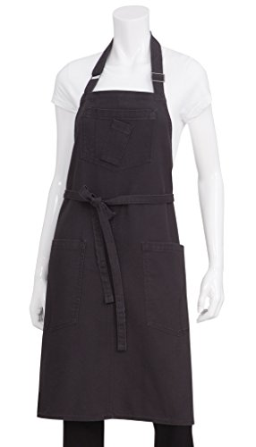 Chef Works Rockford Bib Apron (ABKV053) by Chef Works