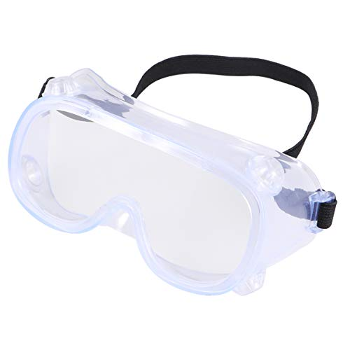 BESPORTBLE Safety Glasses Eyewear Personal Protective Equipment Clear Anti Fog Splash Proof Dustproof Eye Glasses for Working Outdoor