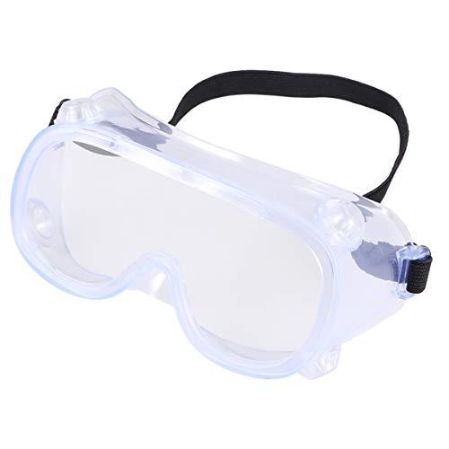 BESPORTBLE Safety Glasses Eyewear Personal Protective Equipment Clear Anti Fog Splash Proof Dustproof Eye Glasses for…