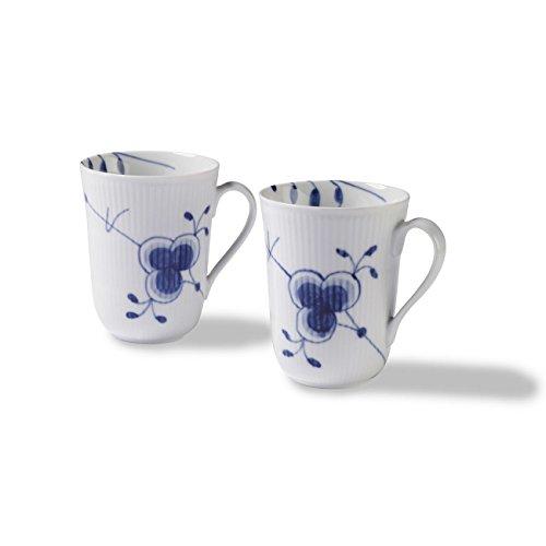 Royal Copenhagen Blue Fluted Mega Mug, Set Of ()