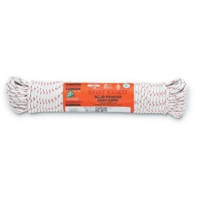 """UPC 030213010855, Sash Cords - #8 spot 1/4"""" x 100' cotton sash cord"""