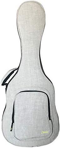 Estuche Foam para Guitarra Clásica, Color Crema, Forro Rojo, marca CIBELES: Amazon.es: Instrumentos musicales