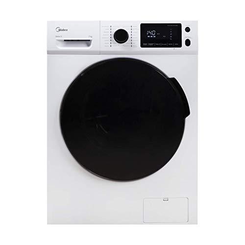 Midea Waschmaschine W 5.740 / 7KG Fassungsvermögen / Energieeffizienzklasse A+++ / Reload – Nachlegefunktion / 1400 U…