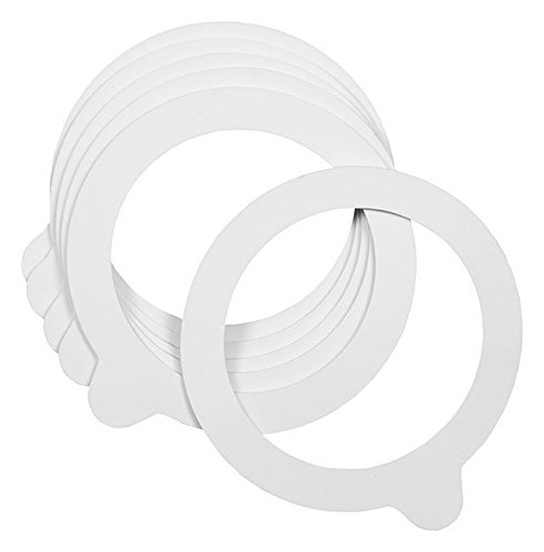 White Gaskets- Pack of 6 -
