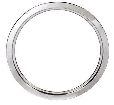(STANCO METAL PROD GT-8 8 Chrome Trim Ring Triple Plated Chrome Steel Range Trim Ring by Stanco Metal Prod)