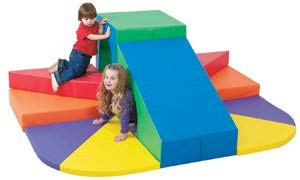 Children's Factory Tunnel Mountain Slide Classroom Furniture (CF322-078)