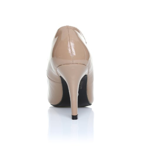 a tacchi pelle color sintetica spillo scarpe carne tonalit Pearl in 1E5OwTq