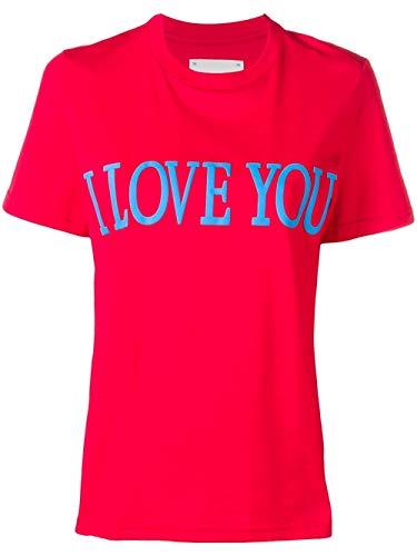 Algodon shirt T J070601720111 Rojo Ferretti Alberta Mujer qCawISI