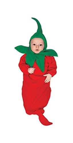 Baby Chili Pepper Costume (Chili Pepper Newborn Costume)