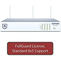 Sophos UTM SG 125w Wireless Firewall FullGuard Bundle with 8 GE ports, FullGuard License, Standard 8x5 Support - 1 Year