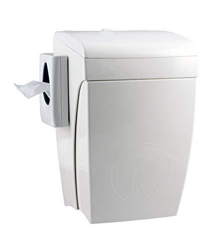 Papelera 8 litros + Bolsas higiénicas Depósito 5667 de ...