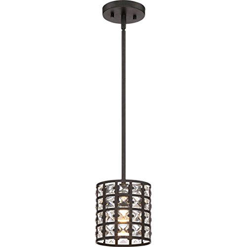 Quoizel One Light Mini Pendant LXY1506IB, Small, Imperial Bronze by Quoizel (Image #4)