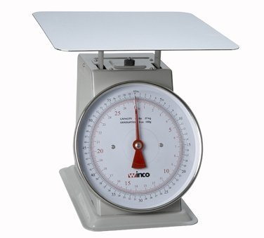 Winco SCAL-960 60-Pound Scale with 9-Inch Dial by Winco