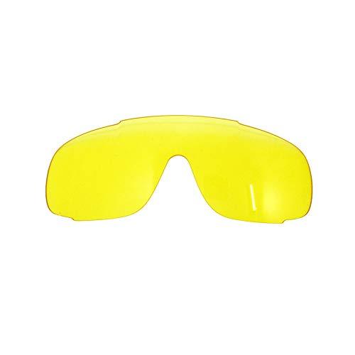 Outdoor Sport Cycling Glasses Men Women UV400 MTB Bicycle Cycling Sunglasses POC Crave Mountain Bike Eyewear,EC Yellow ()