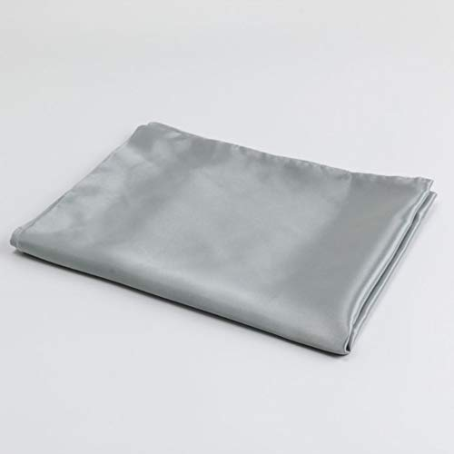Super Soft Easy Care Brushed Microfiber Pillowcases, Set of 1,Hidden Zipper Closure,Wrinkle, Fade, Stain Resistant Pillow Covers(Standard-20x26, Grey)
