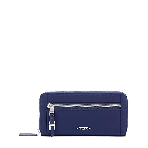 TUMI - Voyageur Zip-Around Continental Wallet - Card Holder for Women - Ultramarine ()