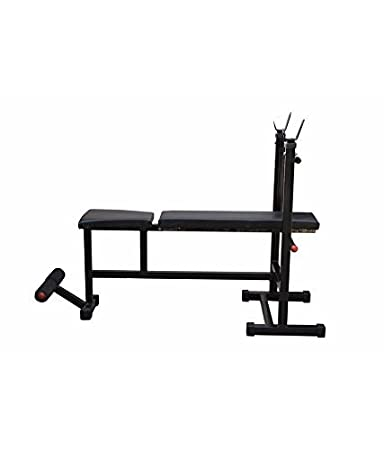 Weight Lifting Multi Purpose Adjustable Multi Bench 4 IN 1 Home Gym Bench (  Incline +