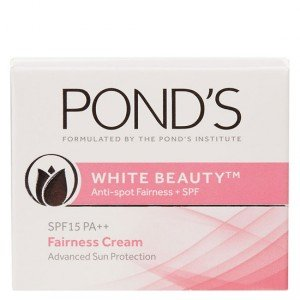 Ponds White Beauty Anti Spot-less Fairness Cream SPF 15 PA++ (50gm)