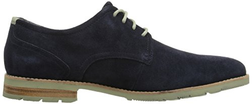 Rockport Hombres Ledge Hill 2 Plaintoe Oxford Navy Suede