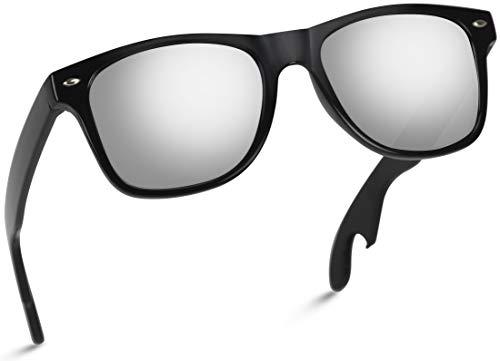 New Horn Rimmed Style Bottle Opener Sunglasses