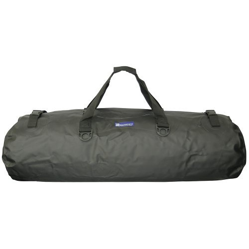 Watershed Mississippi Waterproof Duffel (Black)