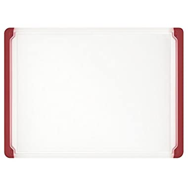 OXO Good Grips 10-1/2-Inch x 14.5-Inch Utility Cutting Board, Red