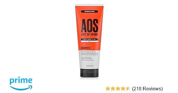 Amazon com : Art of Sport Men's Body Wash with Tea Tree Oil and Aloe