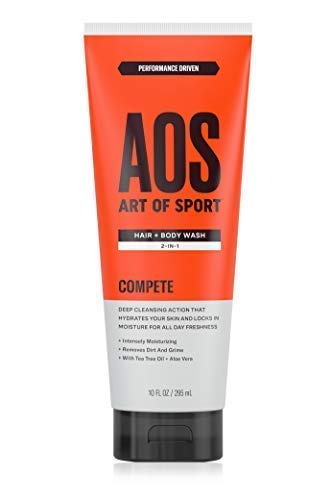 Art of Sport Hair and Body Wash 2-in-1 with Tea Tree Oil and