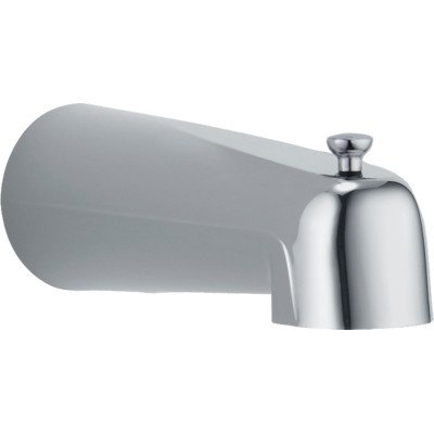 Victorian Wall Mount Tub Spout Trim with Diverter Finish: - Spout Tub Wall Victorian